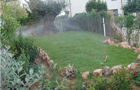 Iticisrl impianti di irrigazione for Irrigazione per aspersione